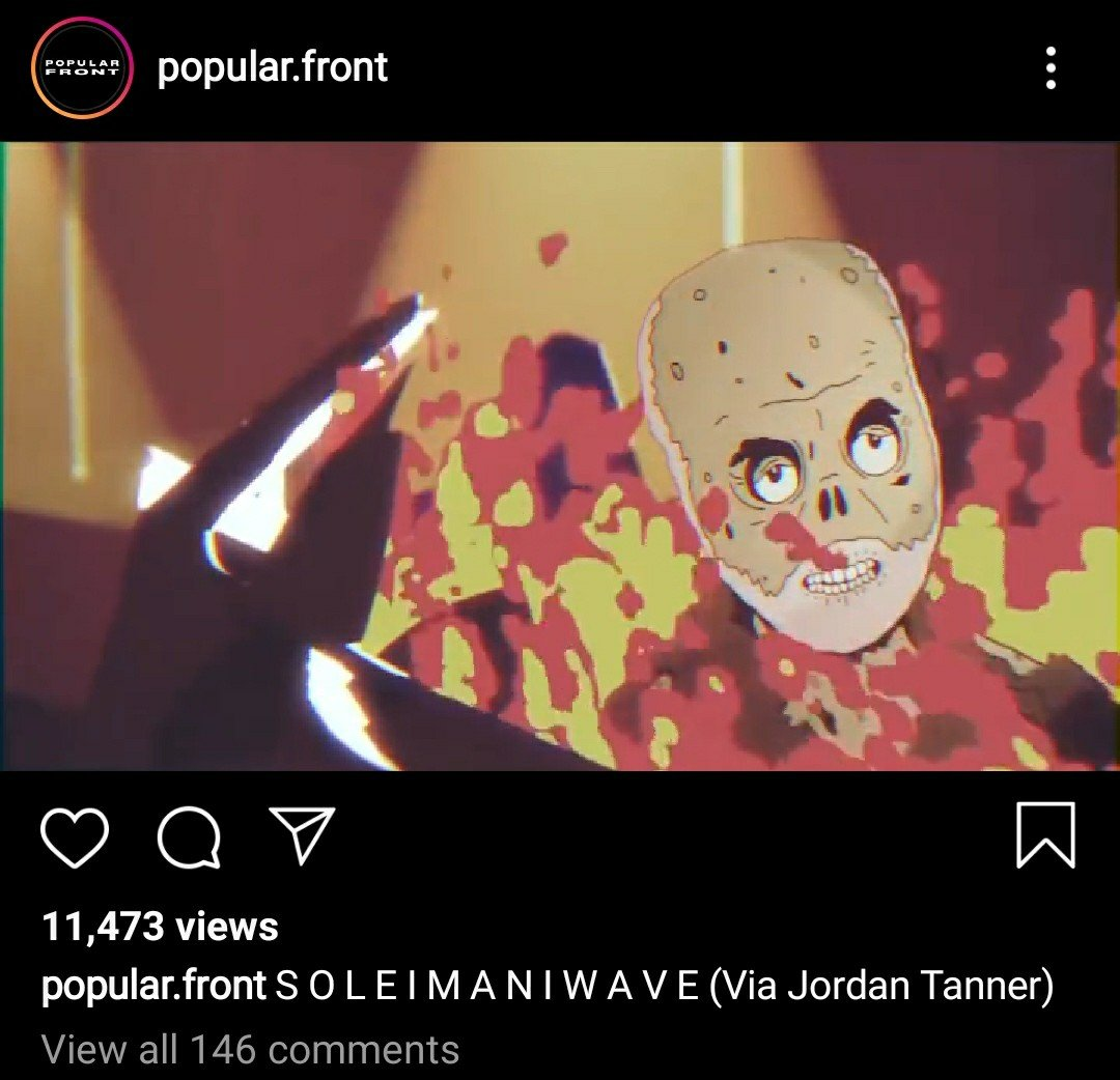 SOLEIMANIWAVE - Popular.Front